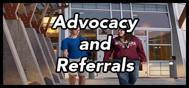 Advocacy and Referrals Students