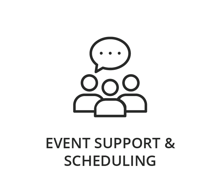 Event Support & Scheduling