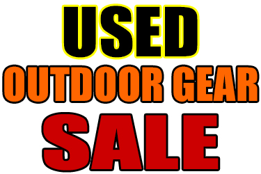 Used Outdoor Gear Sale Oct. 11, 12-5 p.m.