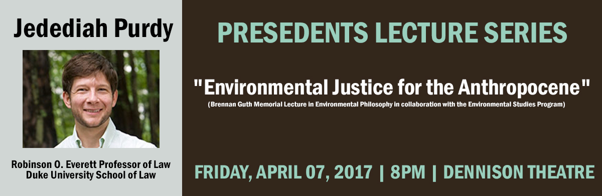 April 7 Presidents Lecture Series