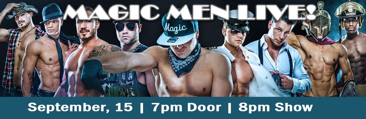 Male entertainers for the Magic Mike Live show