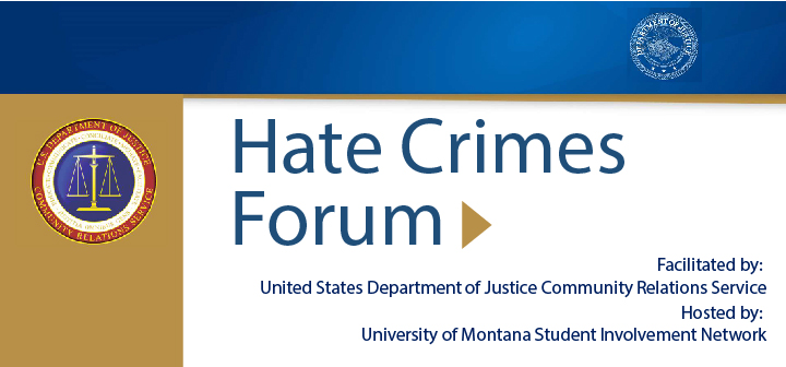 Department of Justice Hate Crimes Forum