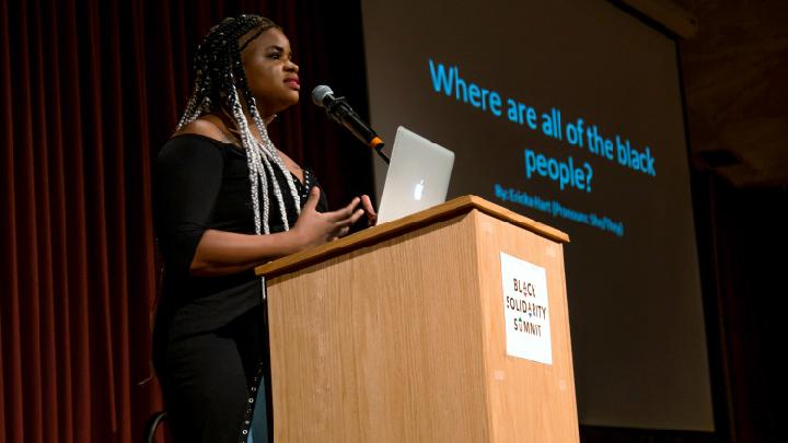 Ericka Hart Gives Keynote Address at Black Solidarity Summit