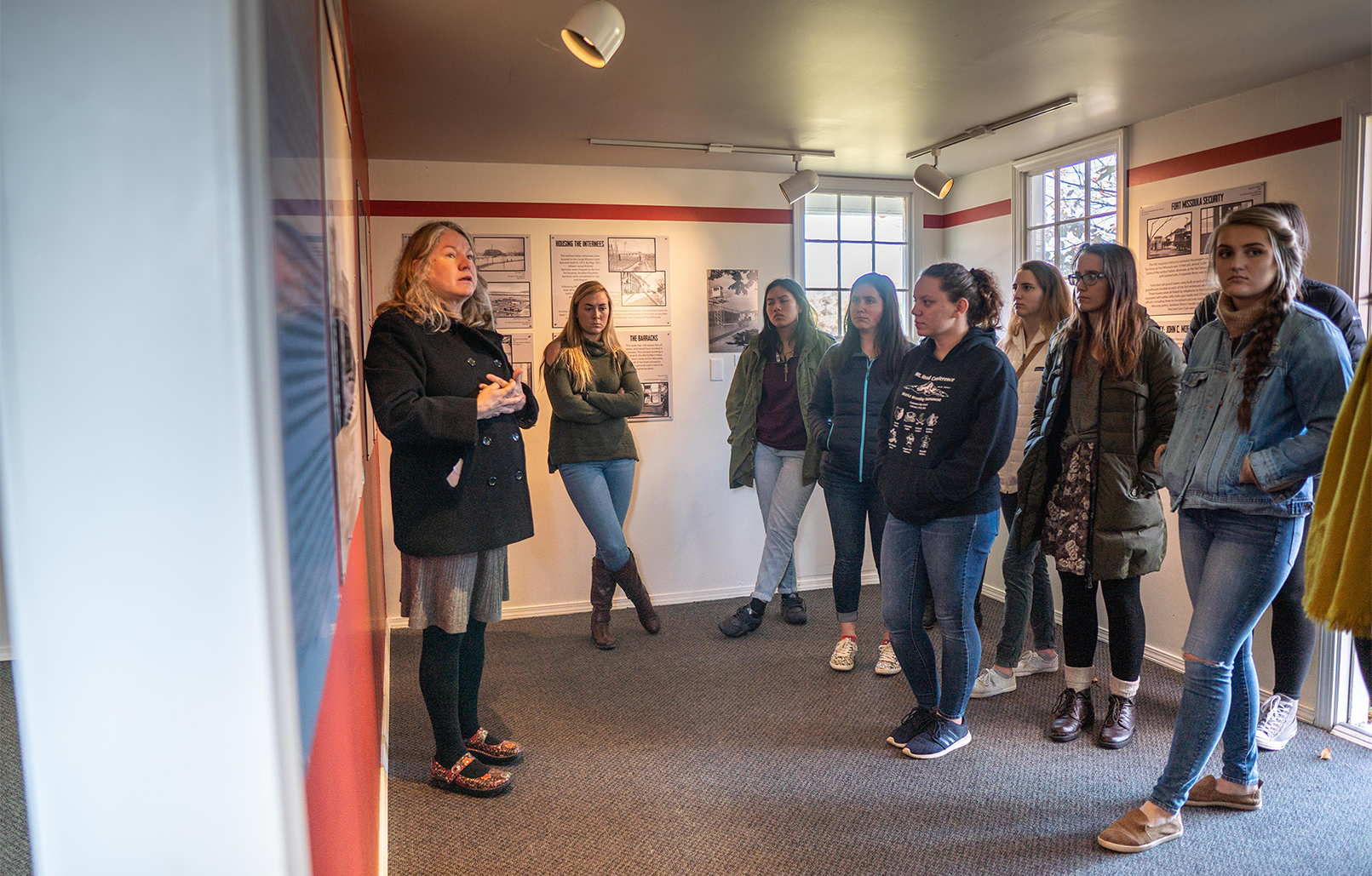 Freshman learn about internment camps at fort Missoula