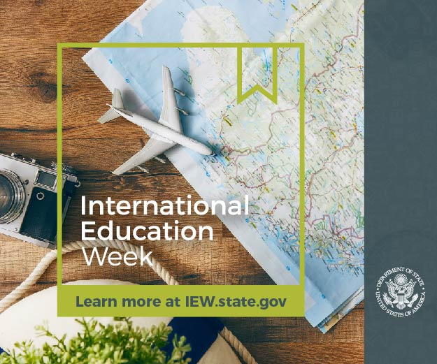 International Education Week - November 12th to 16th, 2018