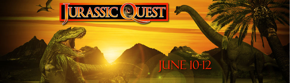 Buy tickets for Jurassic Quest June 10 through June 12