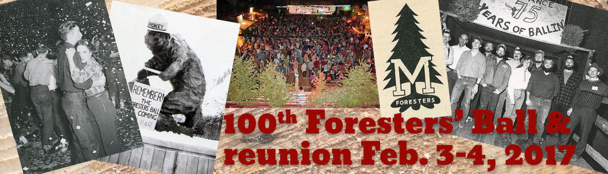 100th Foresters' Ball Feb. 3 & 4 buy tickets