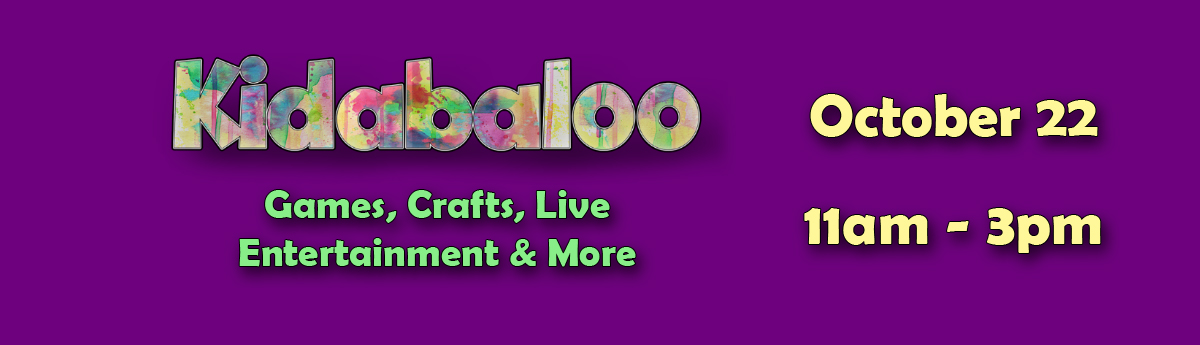 Buy tickets to Kidabaloo on October 22 from 11am-3pm
