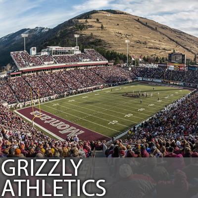 Buy tickets for Montana Griz Athletics - Football men's basketball soccer softball volleyball women's basketball