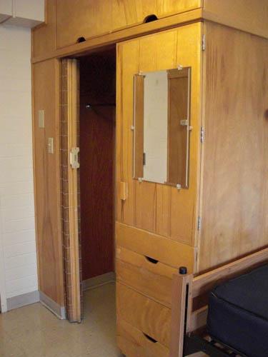 ... Jesse Hall Double Room Closet ... Part 89