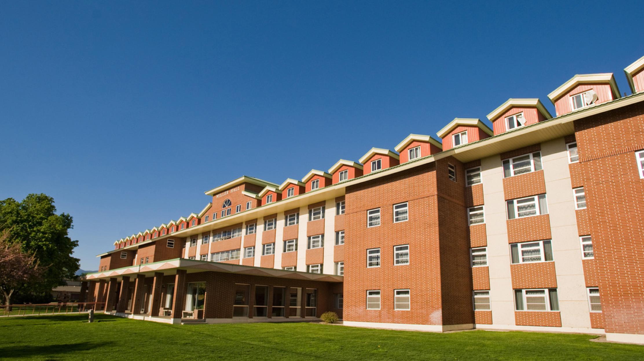 Miller Hall Um Housing University Of Montana