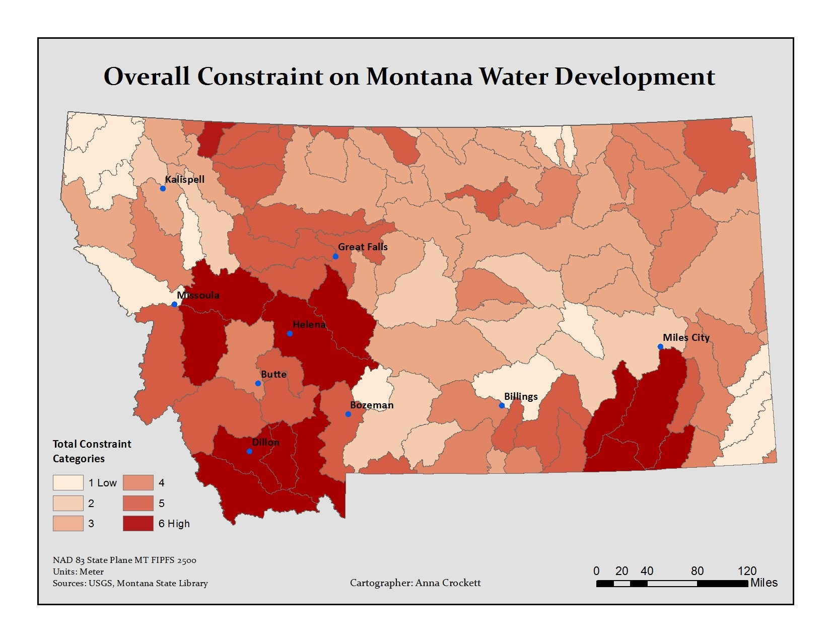 Beyond the Rain: Modeling Montana Water Law