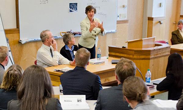ATA Program attendees in class