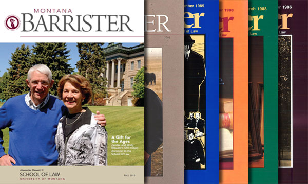 Barrister Magazine Covers