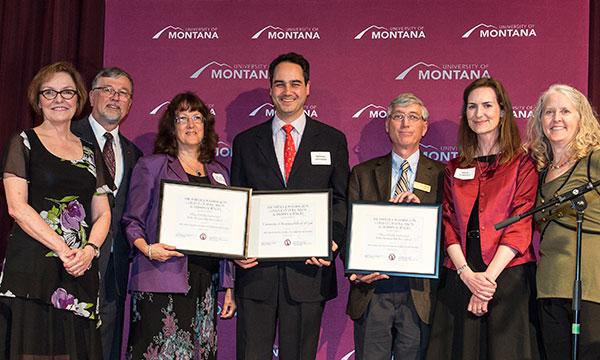Professor Johnstone receives award