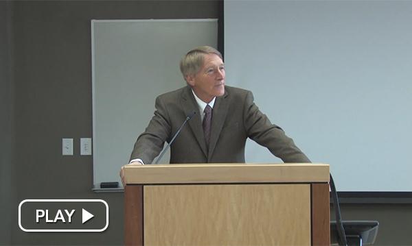 Greg Munro Speaking at Duke Crowley Memorial