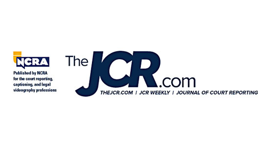 Journal of Court Reporting logo