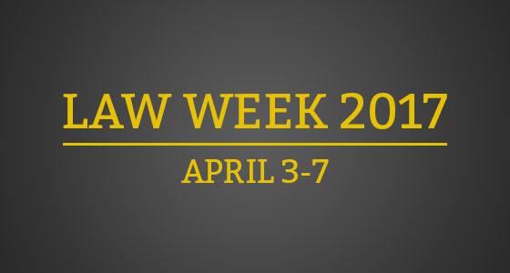 Law Week 2017 Banner