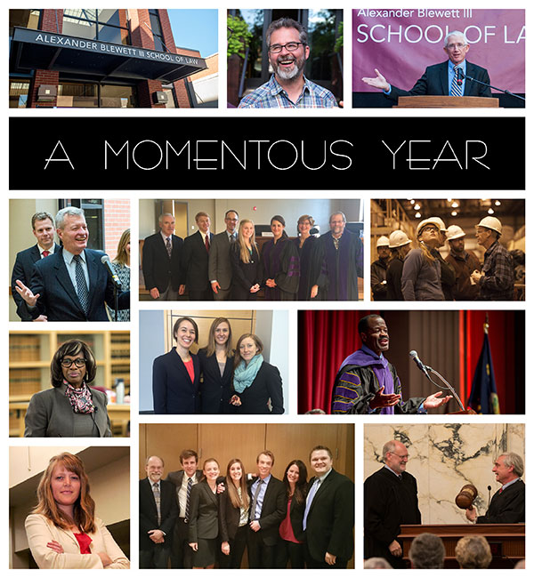 A Momentous Year