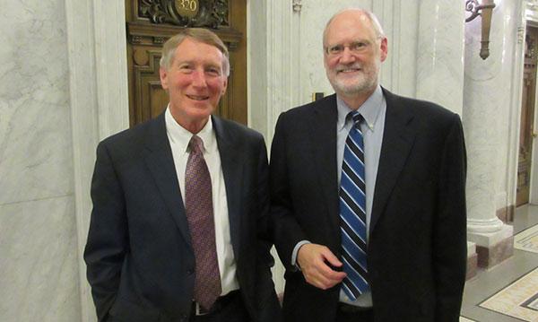 Greg Munro and Sidney Thomas