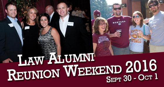 2016 Law Alumni Reunion Weekend