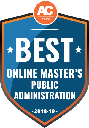 Best Online Master's in Public Administration