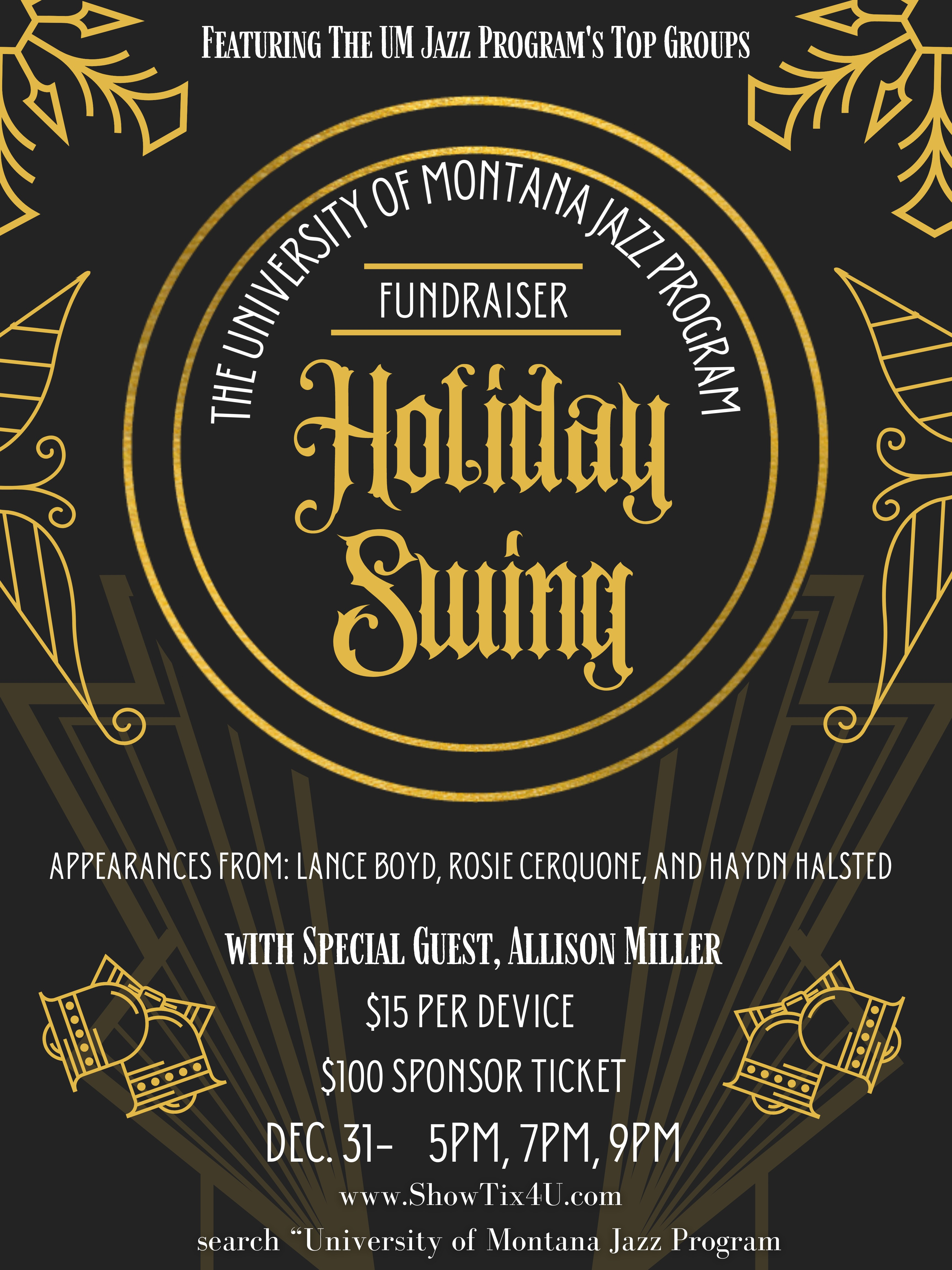Upcoming Jazz Events   UM School of Music   University Of Montana
