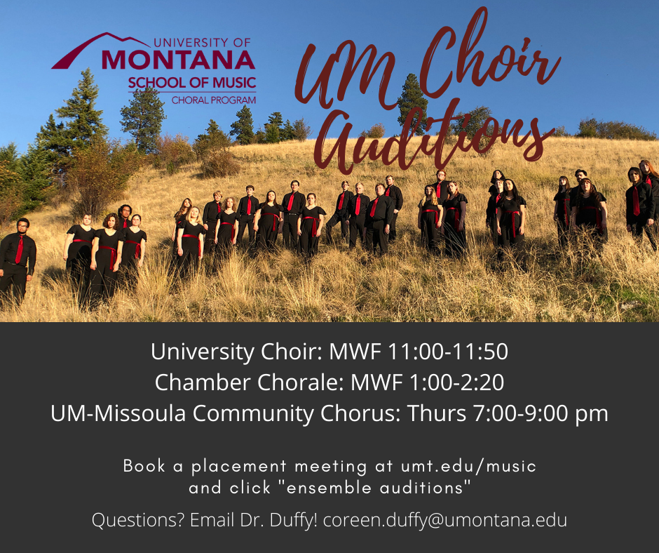 2020 2021 Choral Placement   UM School of Music   University Of