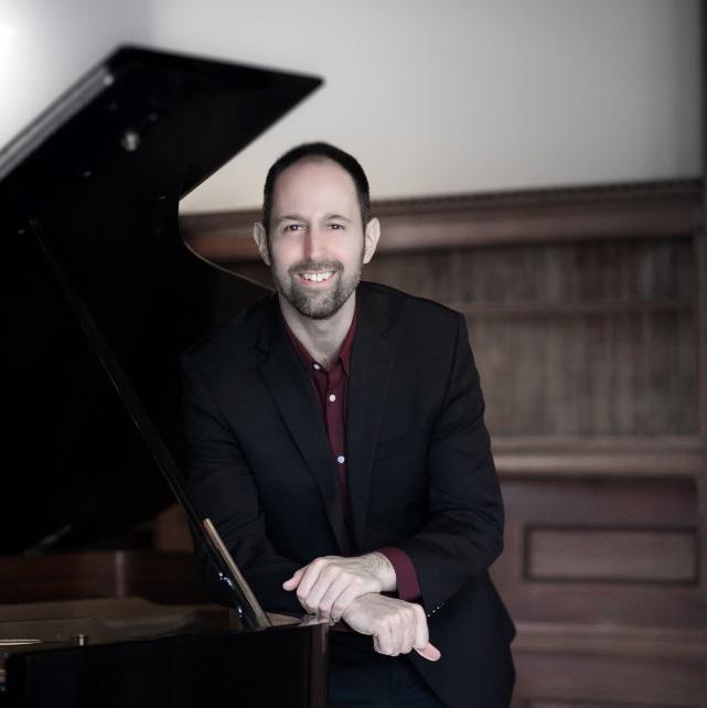 Photo of pianist Spencer Myer