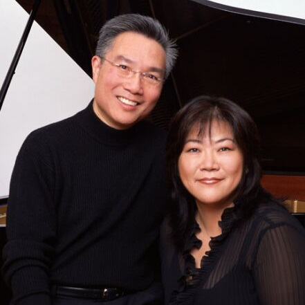 Photo of Angela Cheng and Alvin Chow