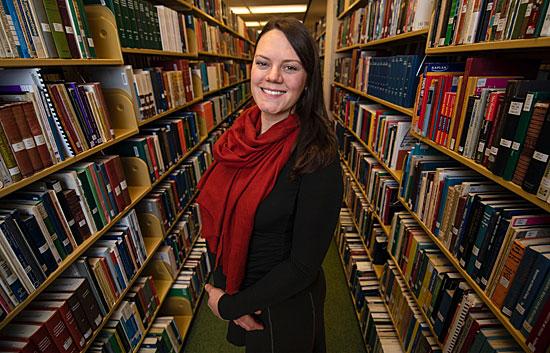UM's Sara Schroeder was named a Montana University System Teaching Scholar.