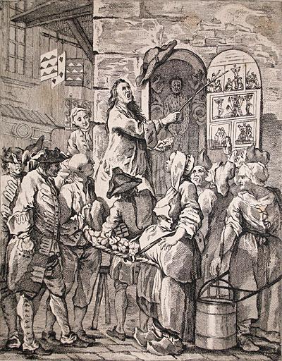 A European etching