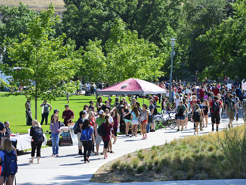 Spring Thaw activities at the University of Montana
