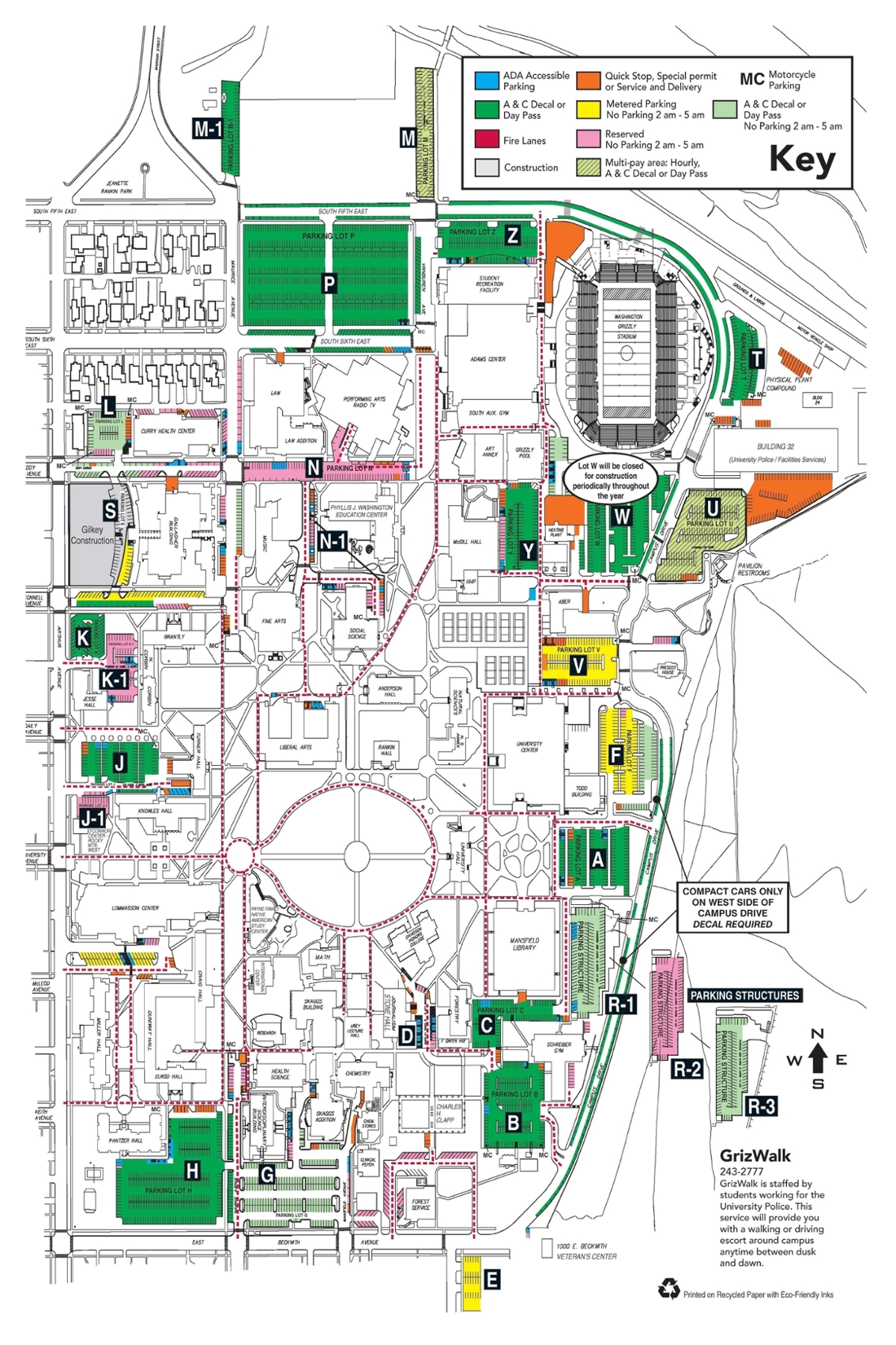 MainCampusParking San Go State University Parking Map on oregon state university map, montana state university campus map, university business center map, cta bus routes map, princeton university map, university beach map, university library map, chapman university map, university school map, university police, ohio university campus map, mankato state university map, university heat map, auburn university map, university transit map,