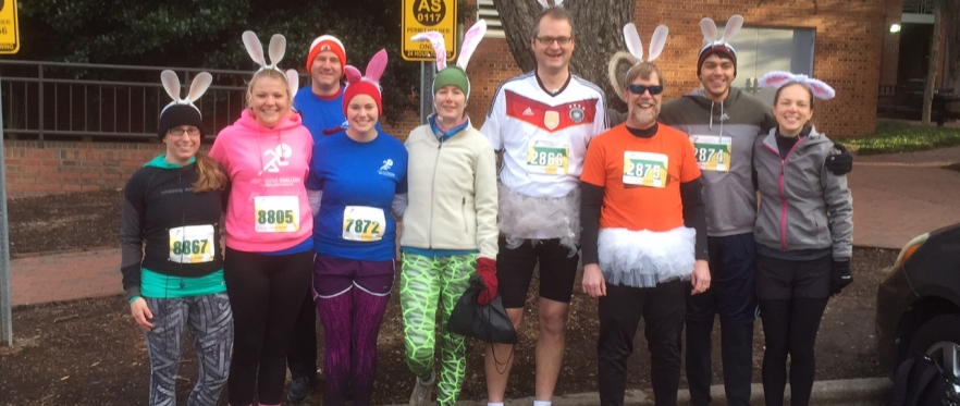 Mills' Lab participates in the 12th annual Krispy Kreme Challenge