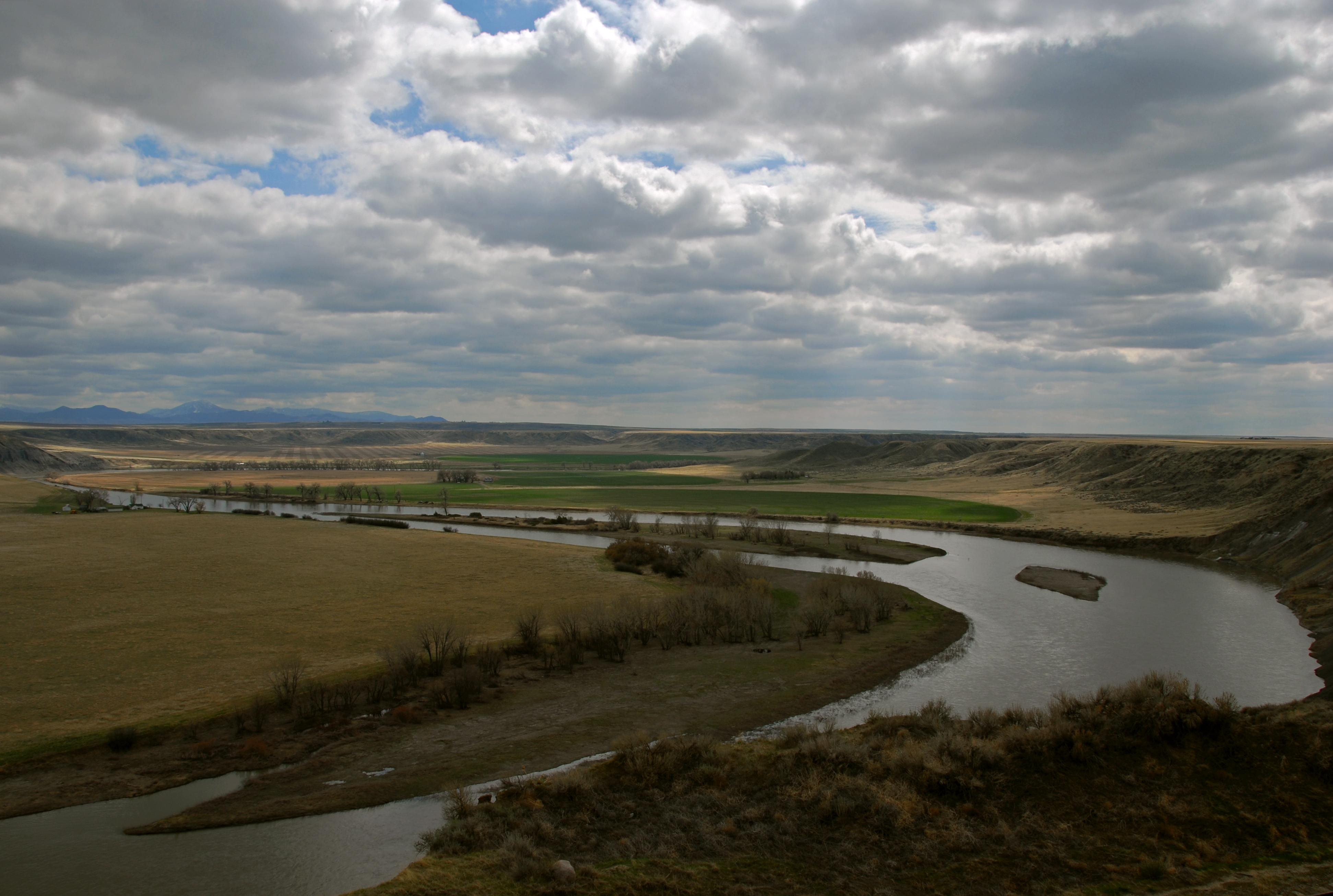 Missouri by Fort Benton