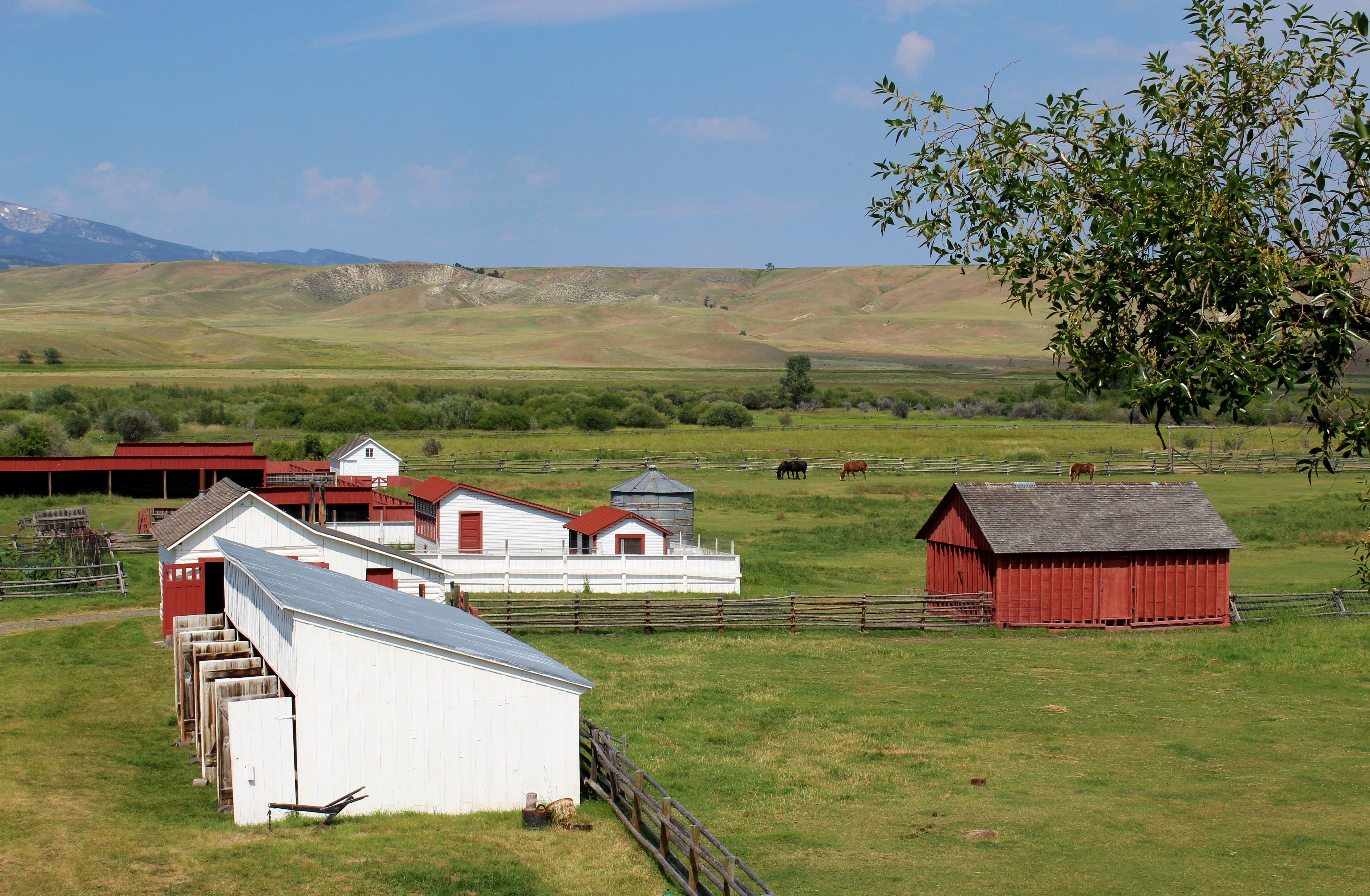 Johnny Grant, Conrad Kohrs, and the Grant Kohrs Ranch