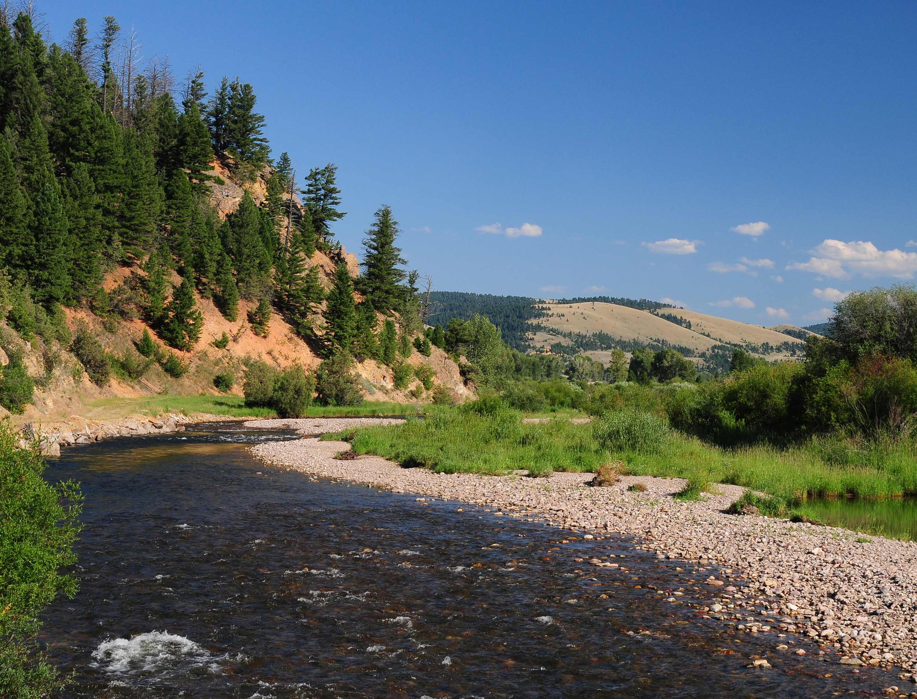 From Philipsburg to Clinton: Riding Rock Creek Road