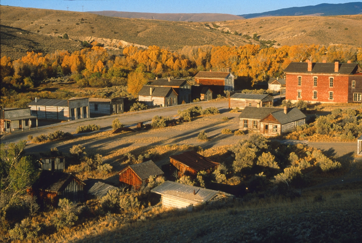 When Montana became a territory on May 26, 1864, Bannack, now a state park, became the first territorial capital. (Photo by Rick and Susie Graetz)
