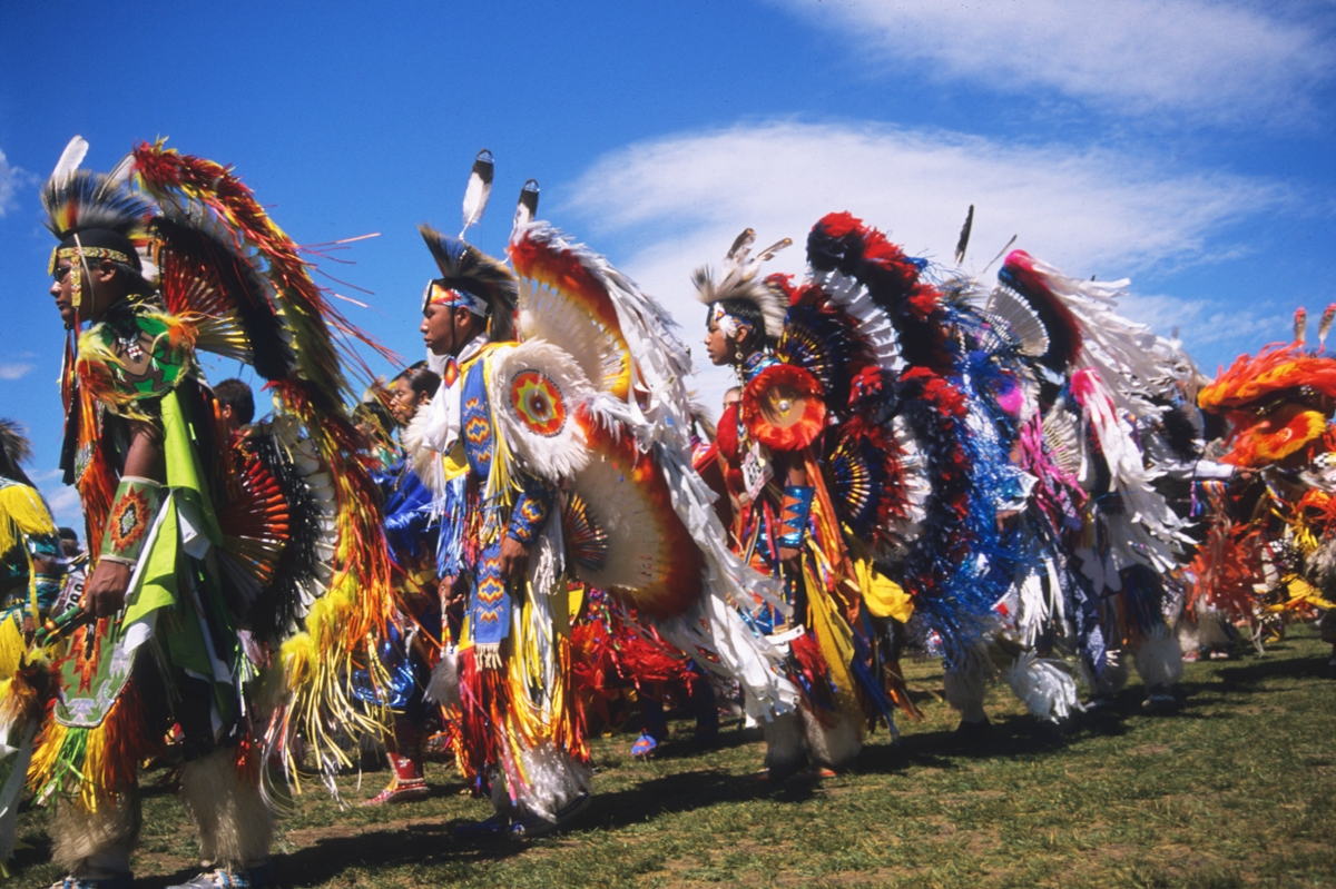 A scene from North American Indian Days Pow Wow on the Blackfeet Reservation (Photo by the Rick and Susie Graetz)