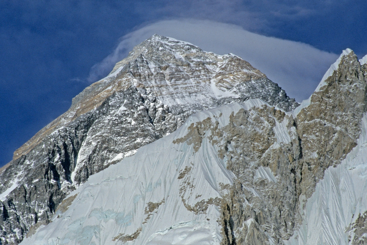 The Everest Summit from Bellsouth Side (Rick & Susie Graetz photo)