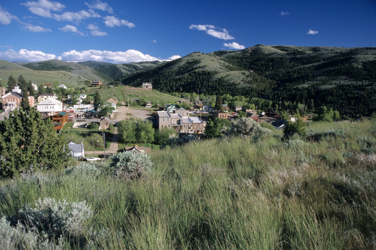 The view from Boot Hill, Virginia City (Photo by Rick and Susie Graetz)